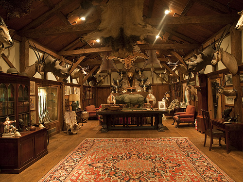 Arabic thinking about museums for Trophy room design