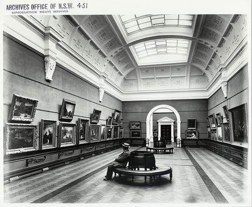 Art Gallery of New South Wales by Flickr user State Records NSW