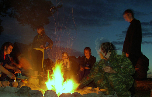 Campfire by Flickr user Jelles
