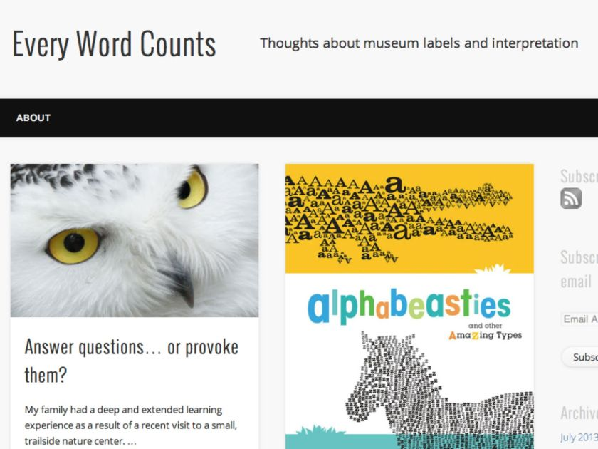 """Every Word Counts"", Susan TImberlake's shiny new blog"