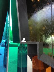 Mini Ed enjoying the National Gallery Victoria