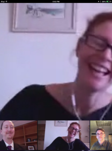 I stink at getting Hangout screenshots.