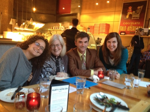 The Storytellers: Nina, Judy, Ed, and Catherine