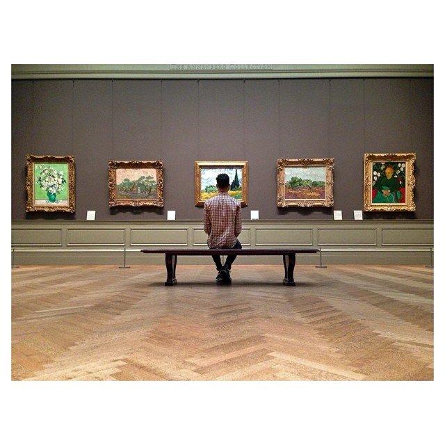 Dave Krugman at the Met, photo by Instagram user @danielkriger