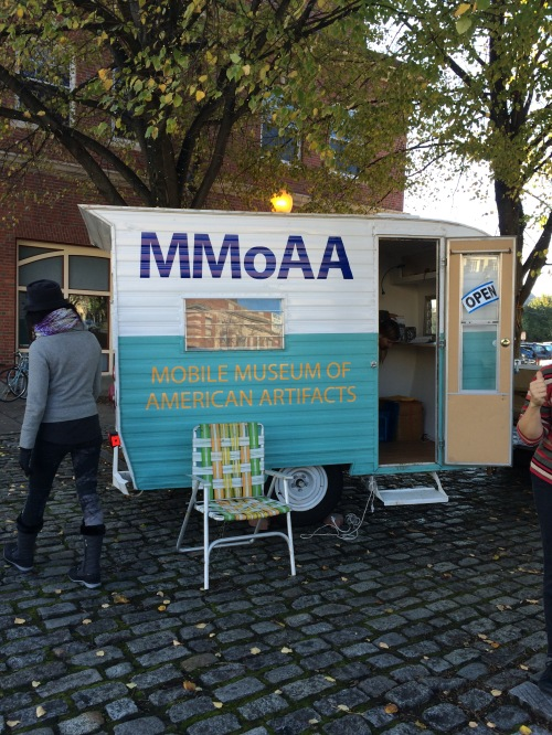 The MMoAA parked the the Union Square Farmers' Market in Somerville, MA