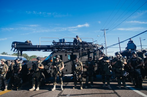 SWAT team, fully assembled CC-BY 2.0 image by Flickr user Jamelle Bouie