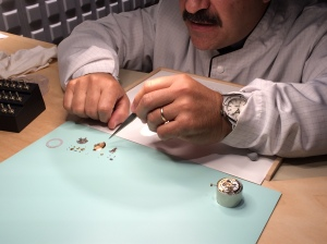 A master watchmaker at work is a thing to behold!