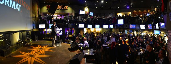 The crowd at the Pourhouse was great!
